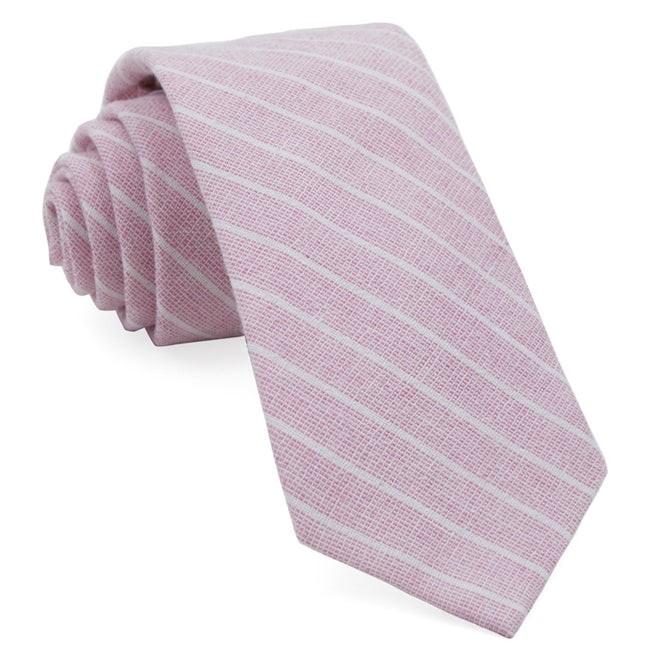 Bondi Stripe Washed Red Tie