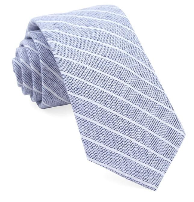 Bondi Stripe Navy Tie
