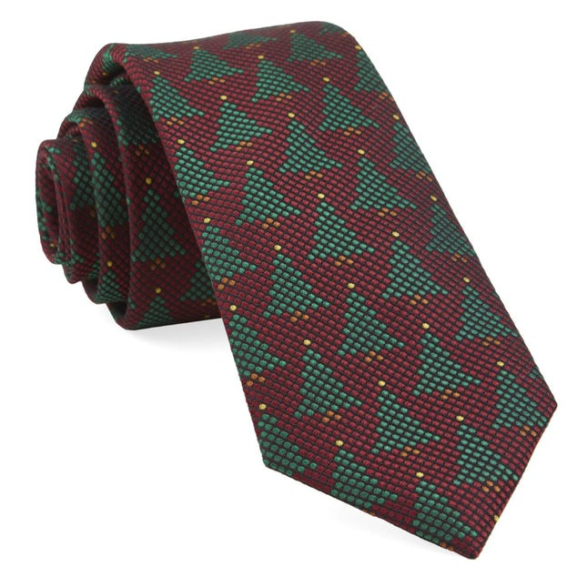 Holiday Network Red Tie