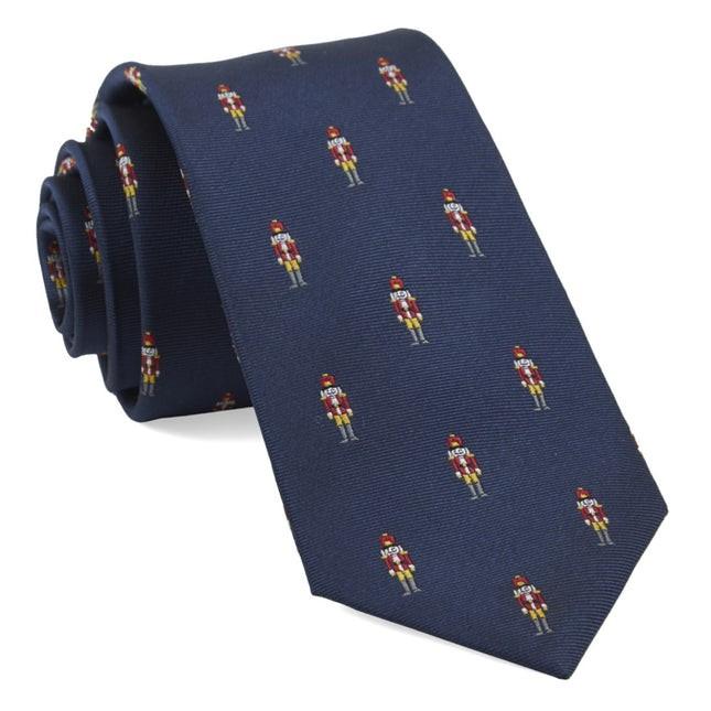 Nutcracker Navy Tie