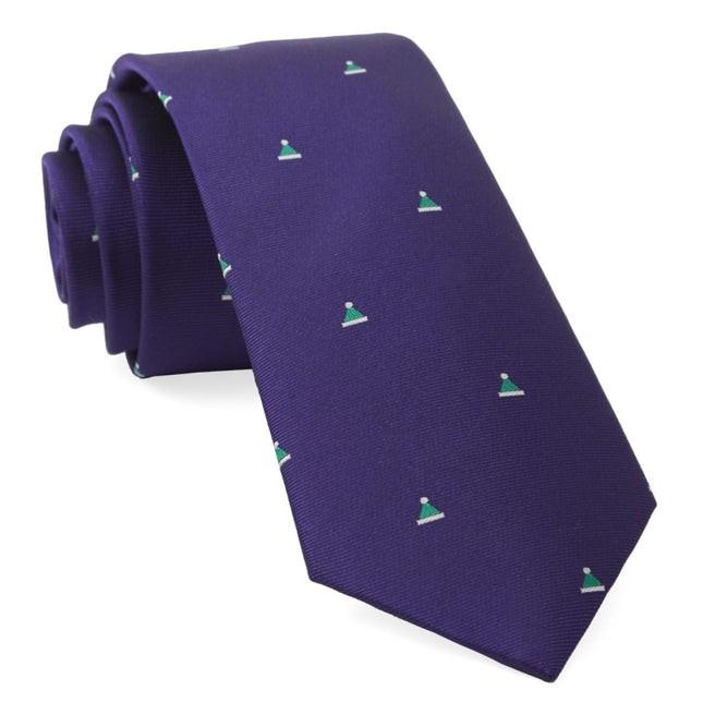 Santa Baby Purple Tie