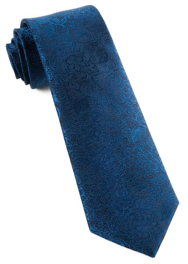 Ceremony Paisley Navy Tie