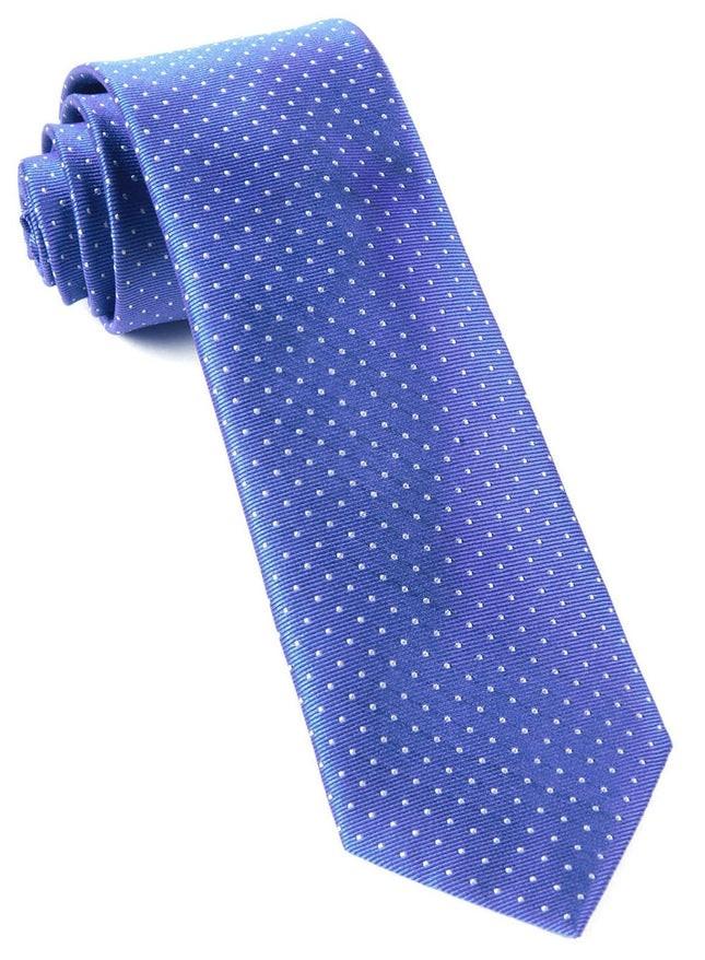 Mini Dots Periwinkle Tie