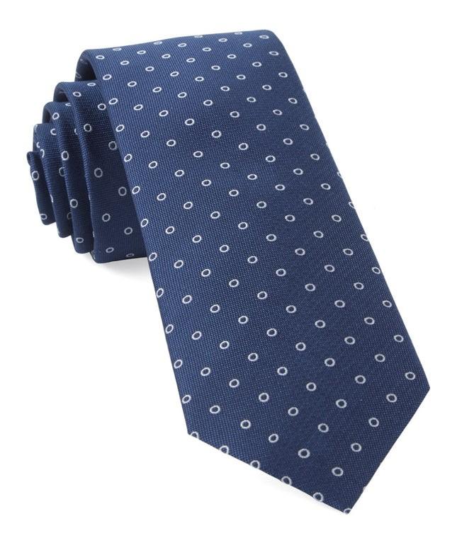 Round Trip Classic Navy Tie