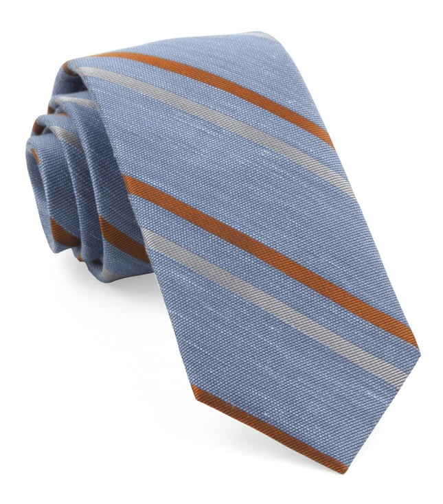 Pep Stripe Light Blue Tie