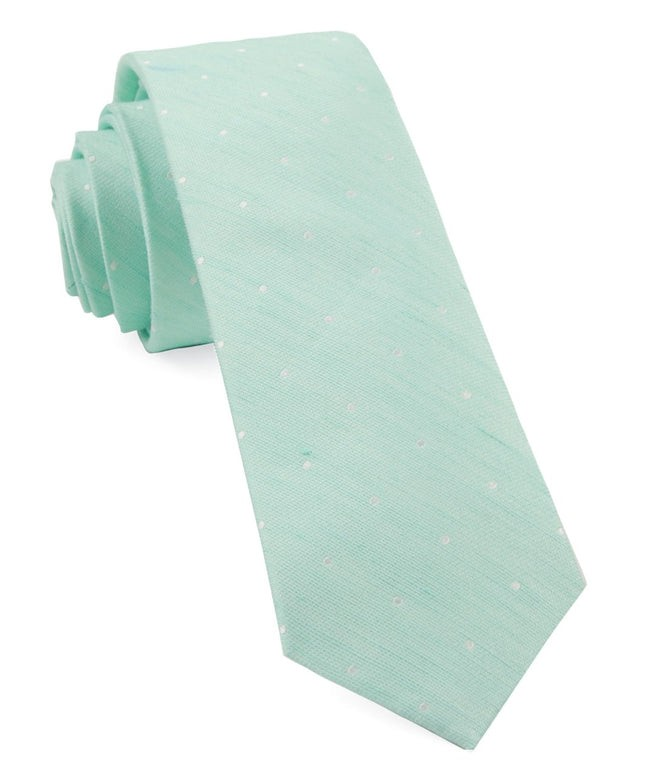 Bulletin Dot Spearmint Tie