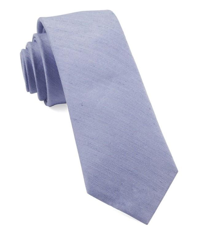Linen Row Sky Blue Tie