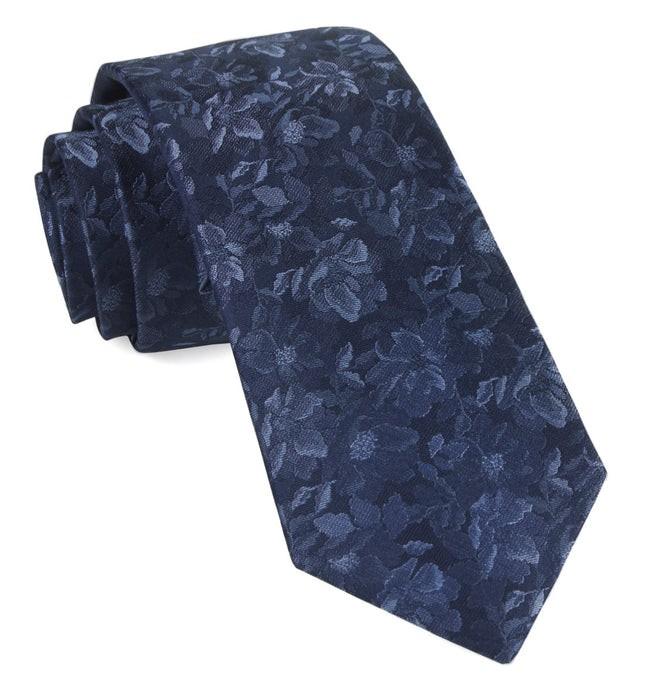 Ramble Floral Navy Tie