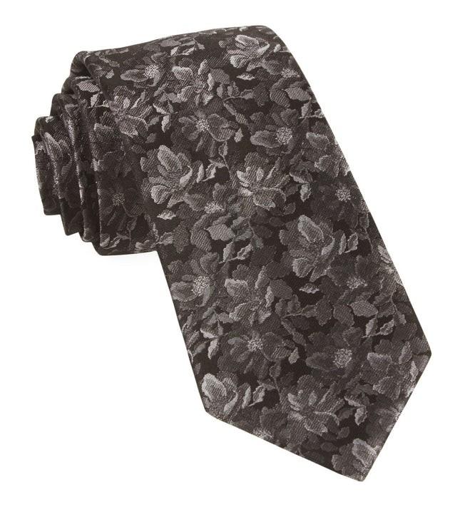 Ramble Floral Black Tie