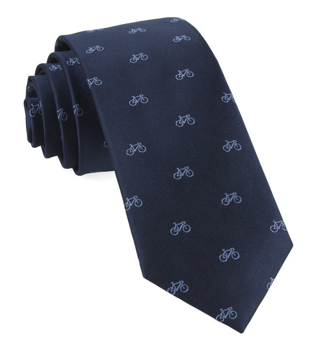 Two-Wheeler Bicycle Navy Tie