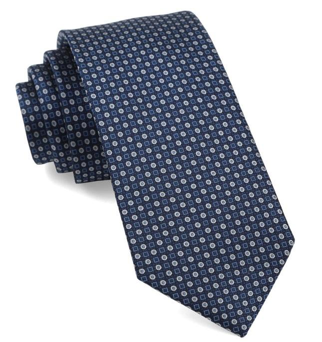 Market Geos Navy Tie
