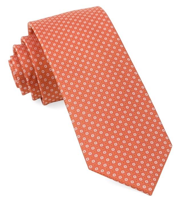 Market Geos Orange Tie