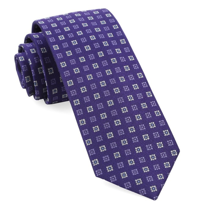 West Ridge Geos Purple Tie