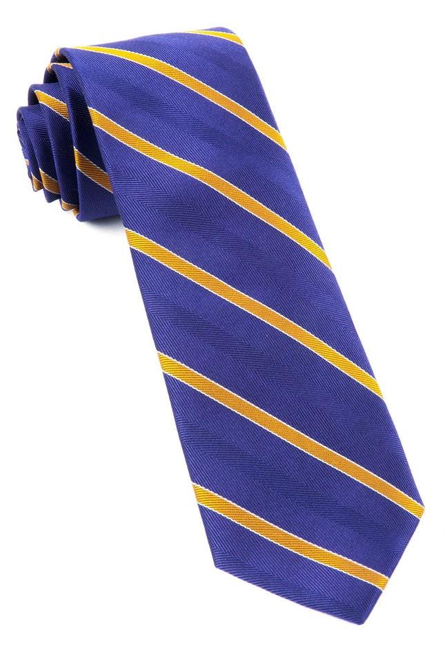 Pipe Dream Stripe Plum Tie