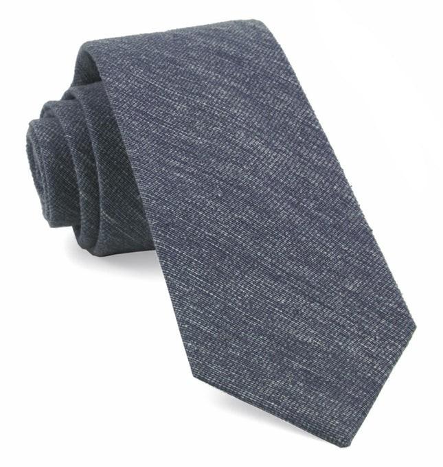 West Ridge Solid Navy Tie