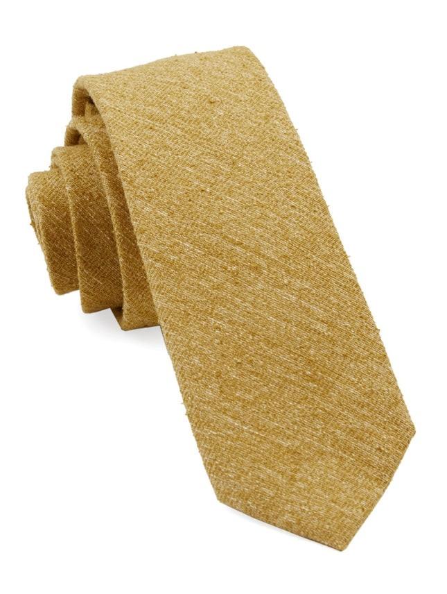 West Ridge Solid Mustard Tie