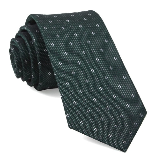 Bond Geos Hunter Green Tie
