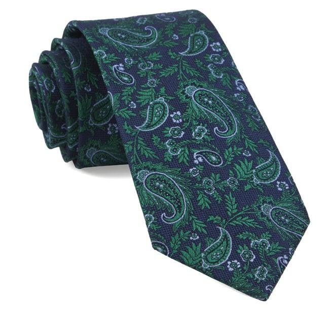 Concord Paisley Navy Tie