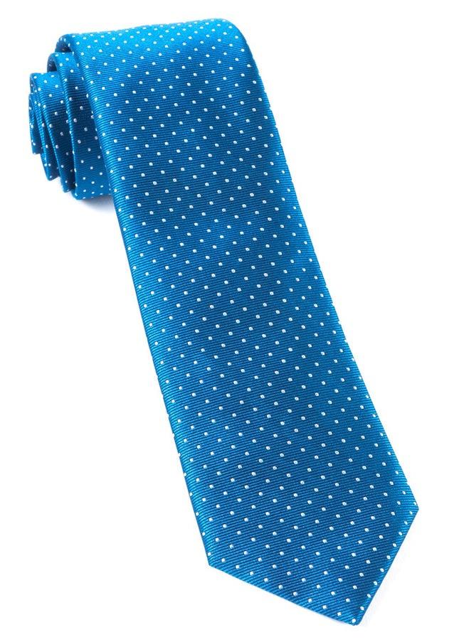 Mini Dots Classic Blue Tie