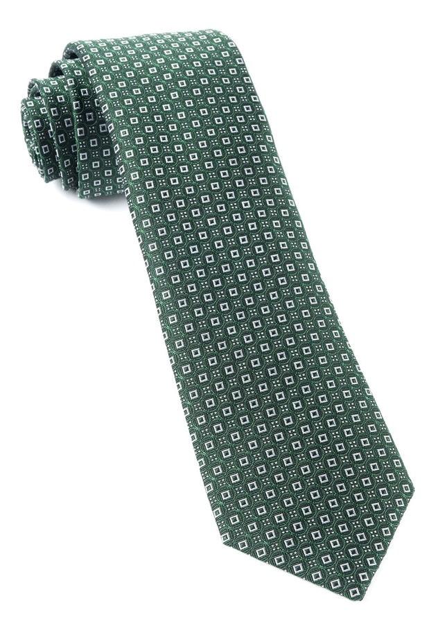 United Medallions Hunter Green Tie
