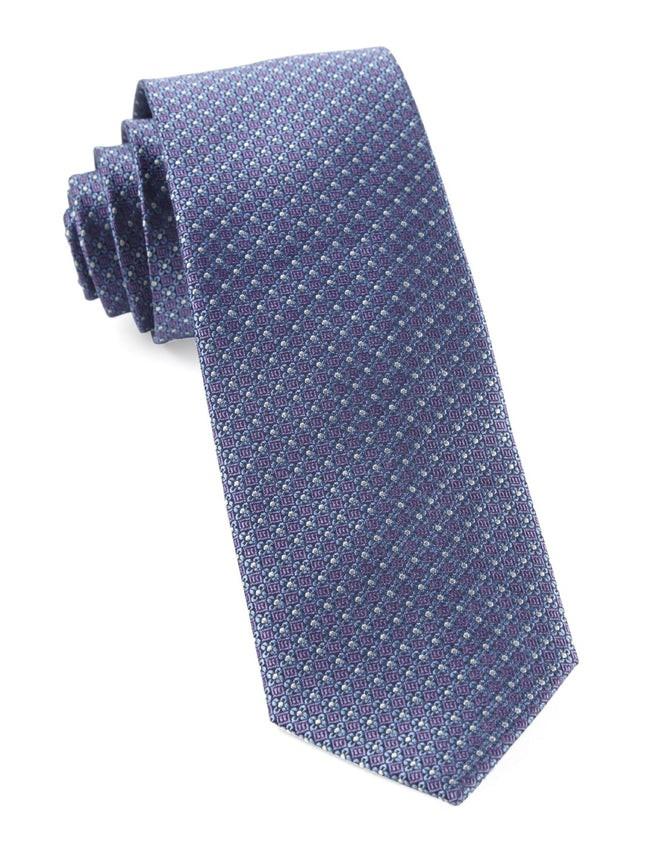 Flower Network Lavender Tie