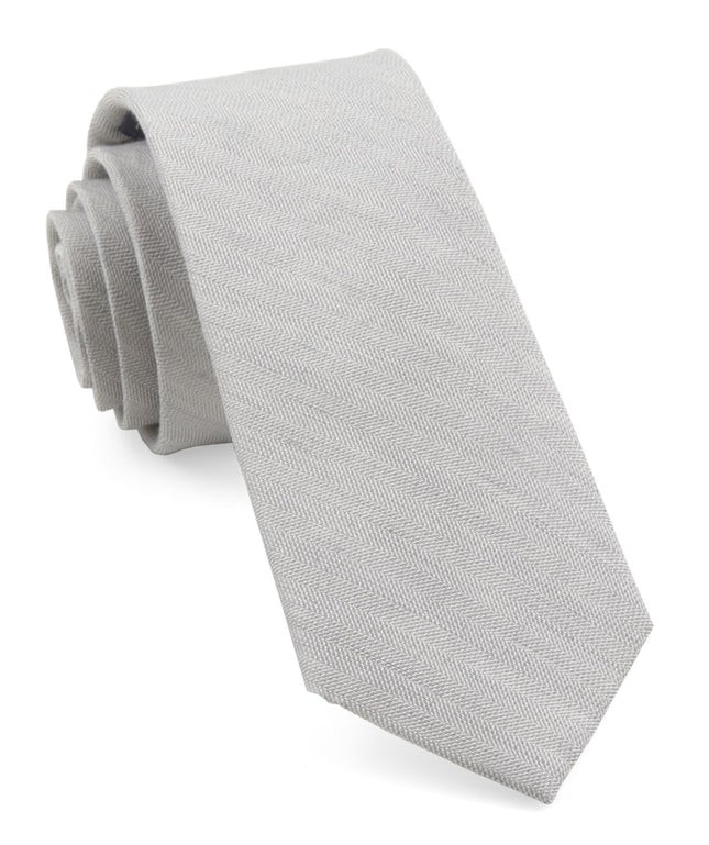 Bhldn Linen Row Grey Tie