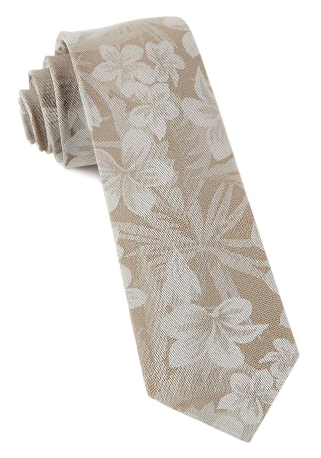 Key West Cotton Champagne Tie