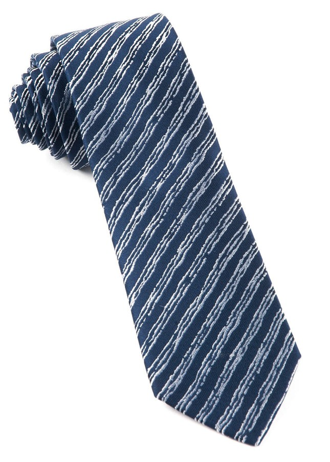 Timber Stripe By Dwyane Wade Navy Tie