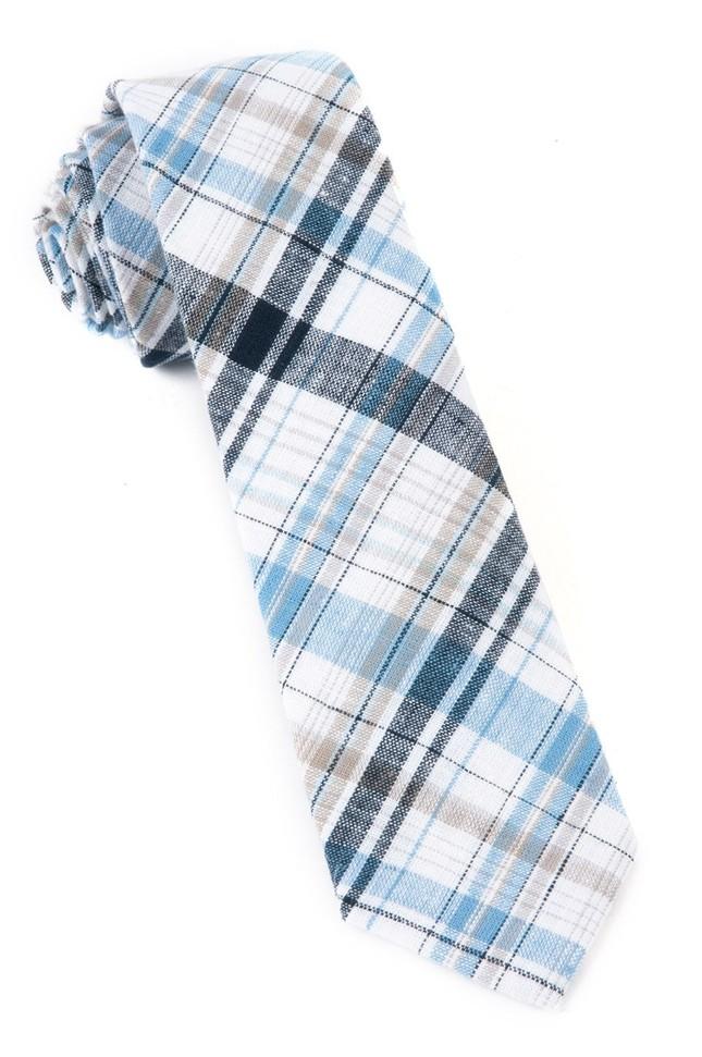 Polar Linen Midnight Navy Tie