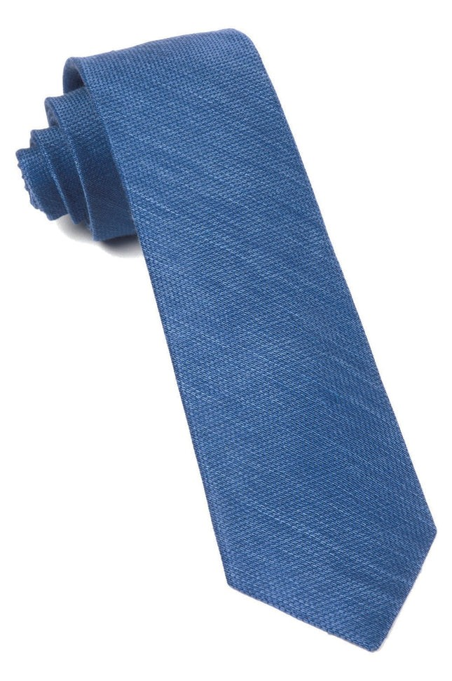 Jet Set Solid French Blue Tie