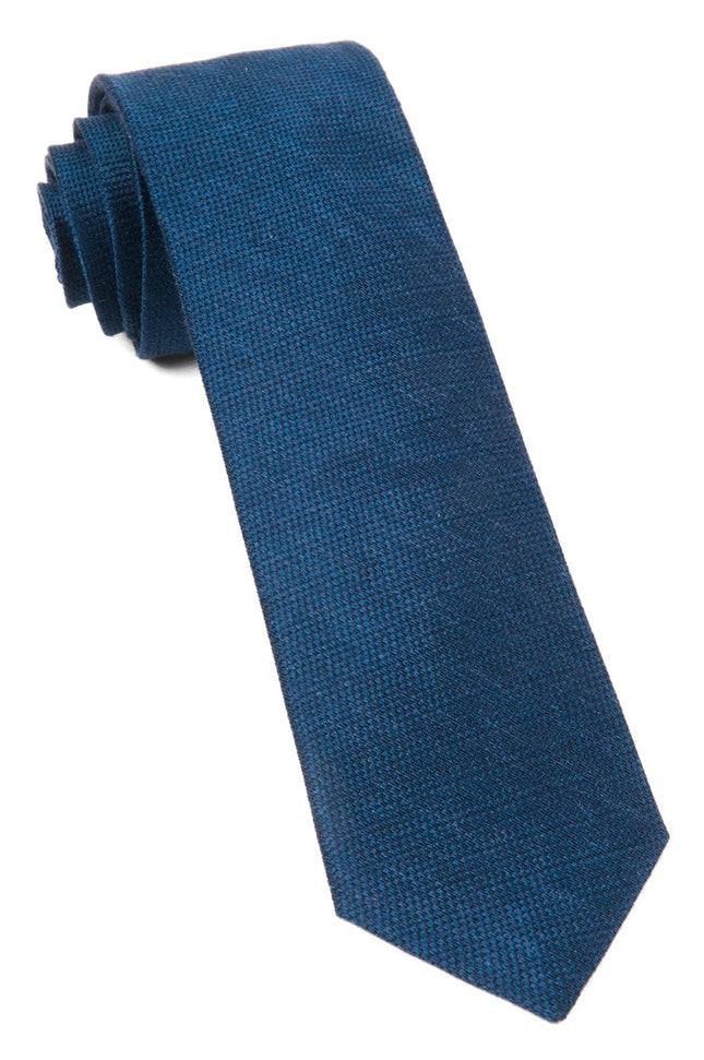 Jet Set Solid Navy Tie