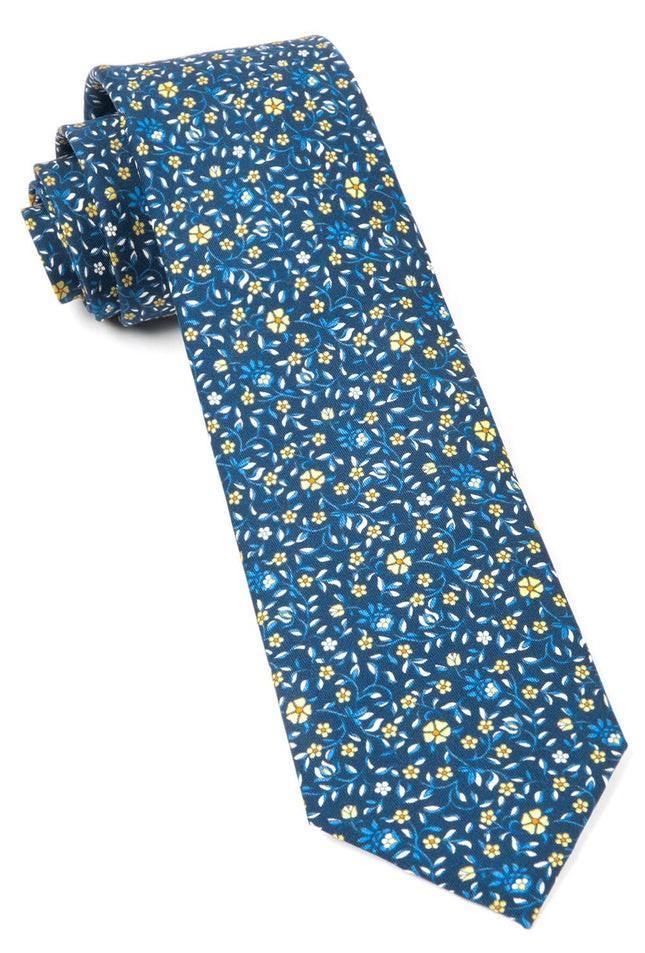 Peninsula Floral Navy Tie