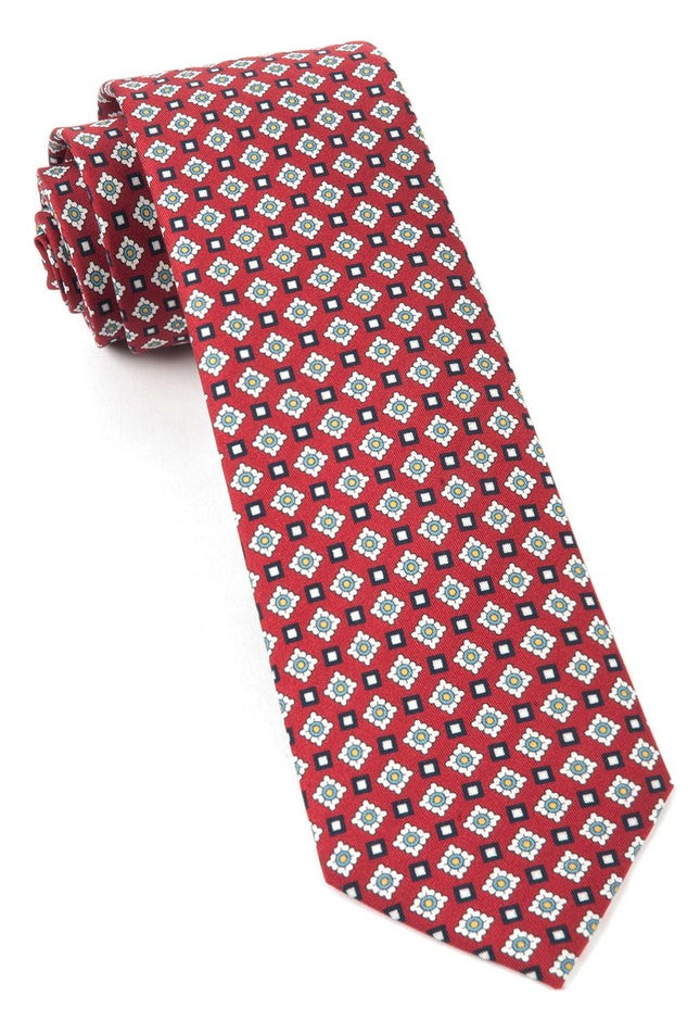 South Padre Geos Red Tie
