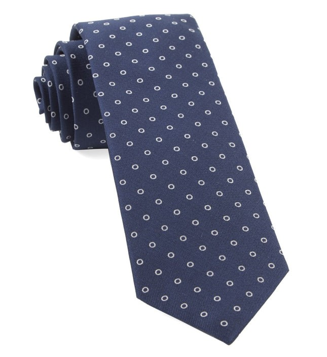 Round Trip Navy Tie