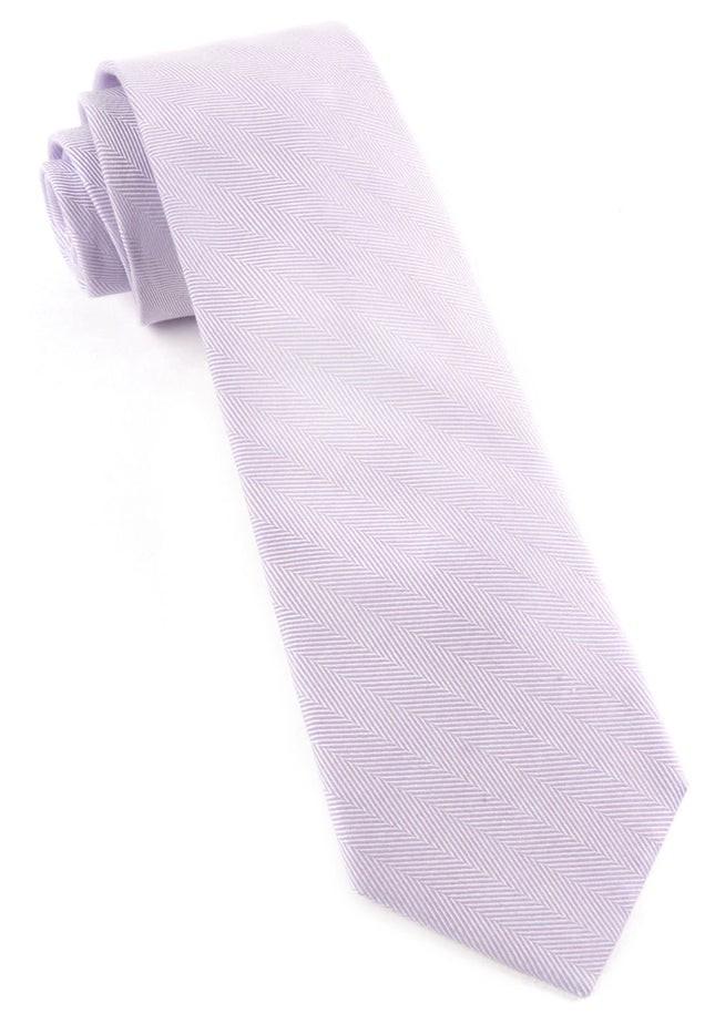 Solid Flex Lavender Tie