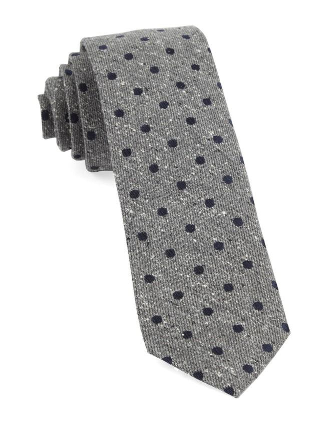 Revolve Dots Navy Tie