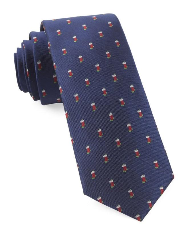 Fully Stocked Navy Tie