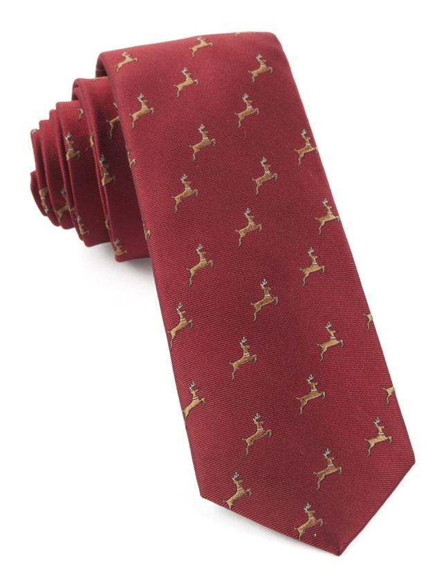 Vixen Apple Red Tie
