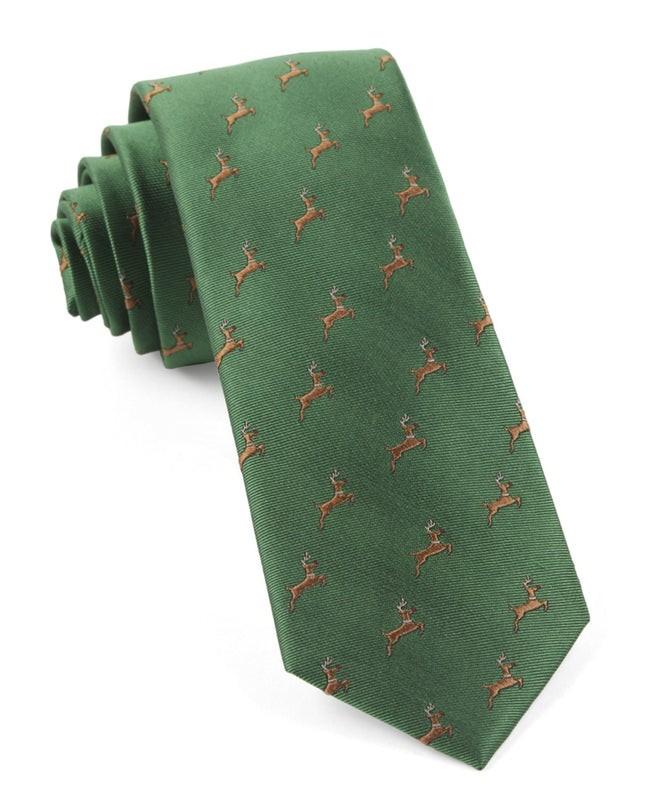 Vixen Clover Green Tie