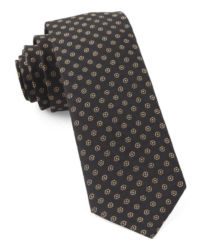 Eagle Eye Medallion Classic Black Tie