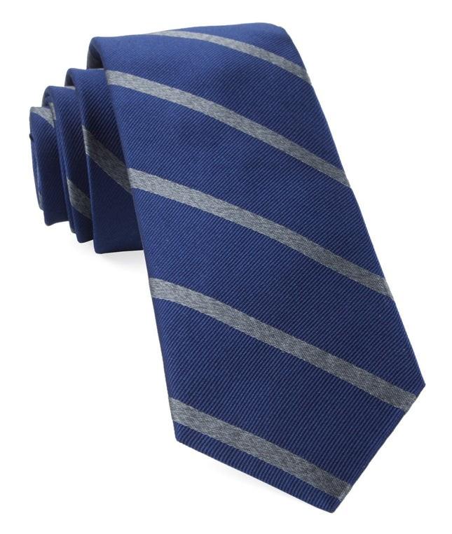 Wheelhouse Stripe Navy Tie