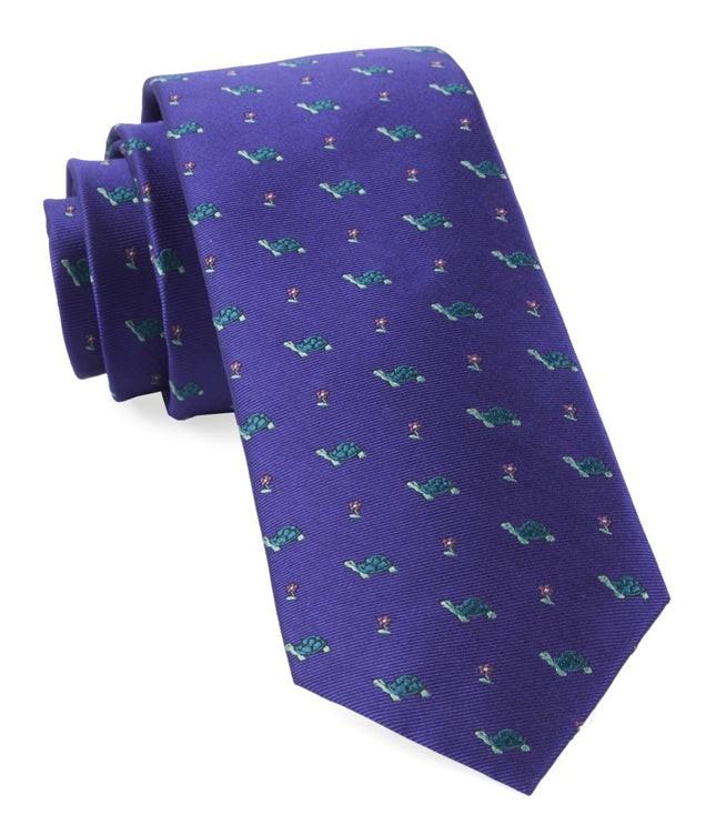 Turtle Island Plum Tie