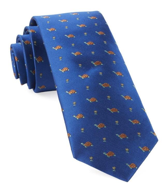Turtle Island Royal Blue Tie