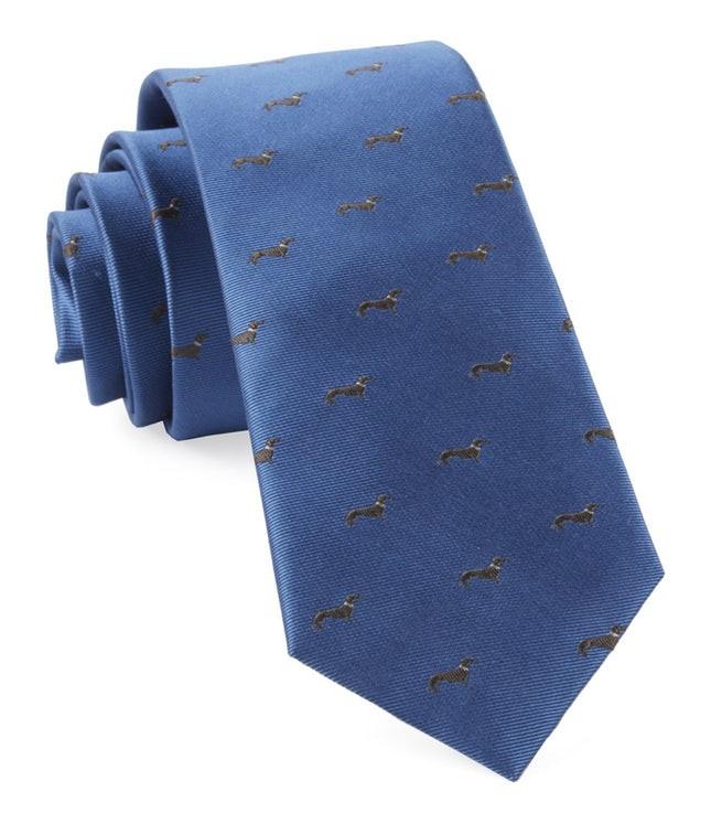 Dog Days Slate Blue Tie