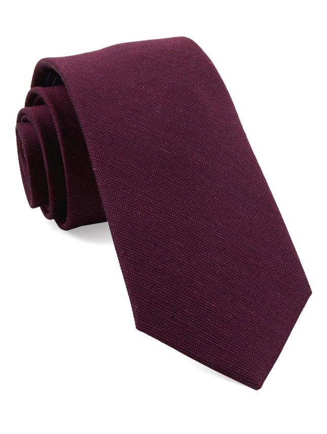 Cardinal Solid Azalea Tie