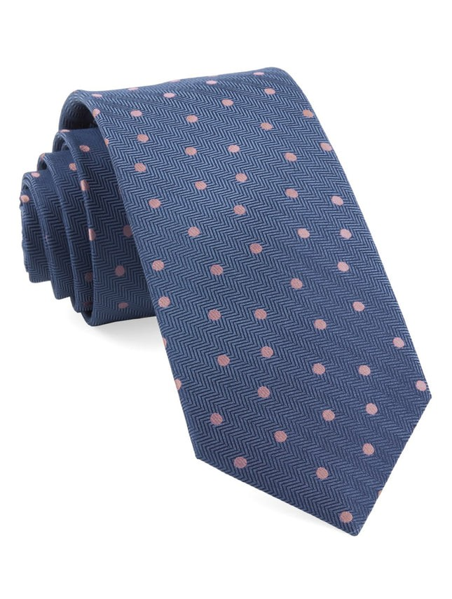 Jackson Dots Blue Tie