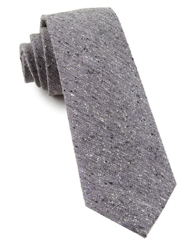 Buff Solid Lavender Tie