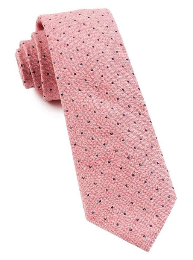 Dotted Peace Pink Tie