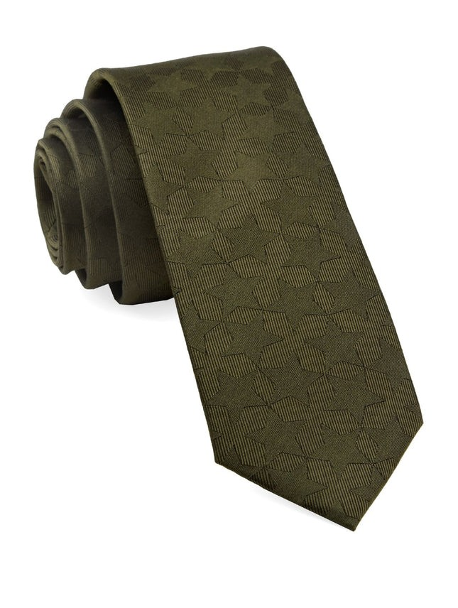 North Stars By Dwyane Wade Army Green Tie