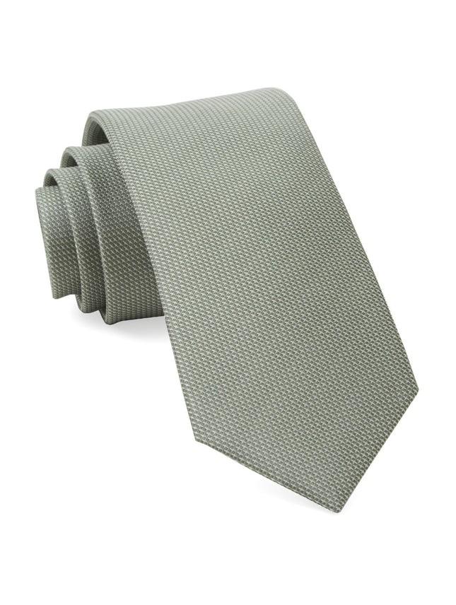 Union Solid Sage Green Tie